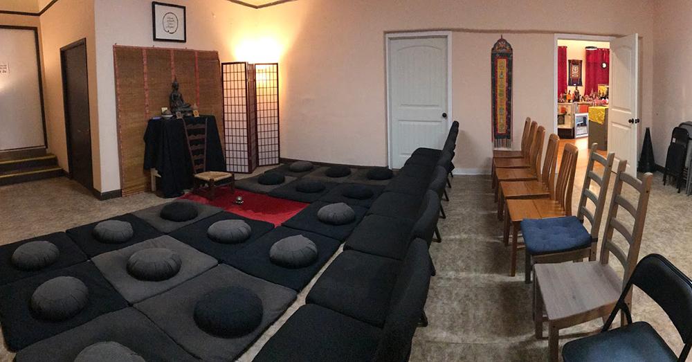 buddha for you meditation hall