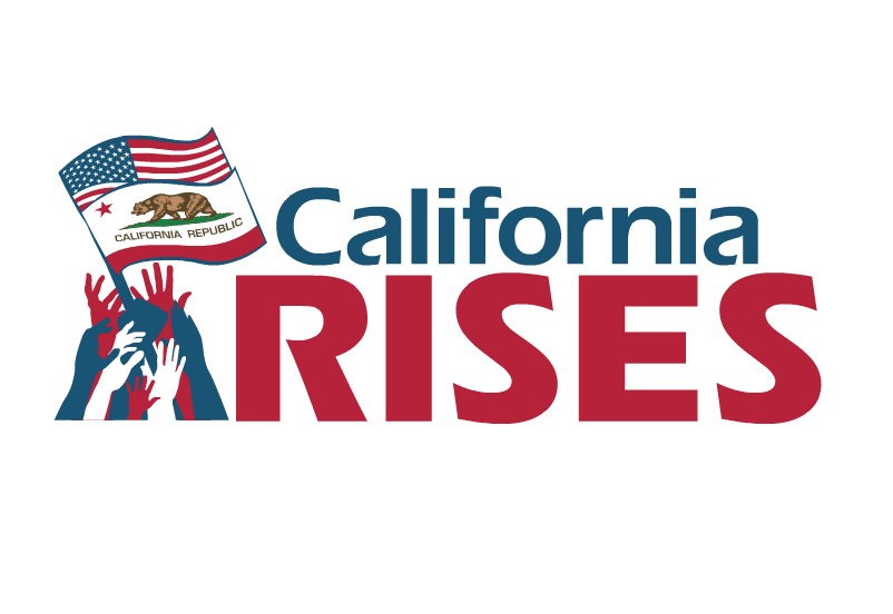 California RISES Logo Animation