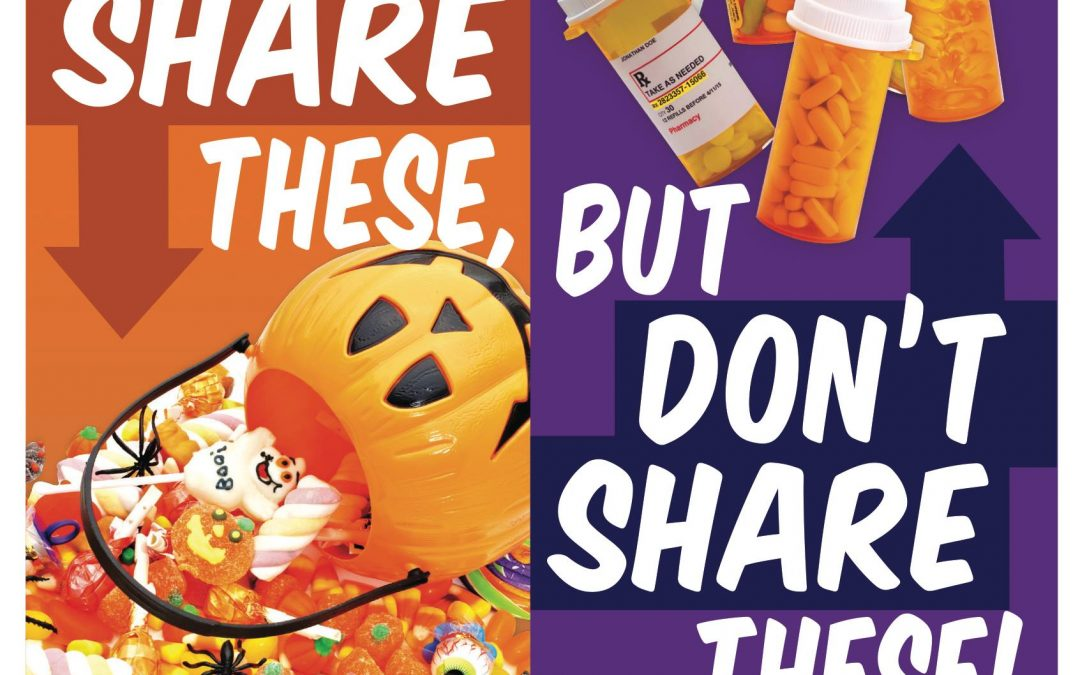Share These, Don't Share These Halloween Campaign
