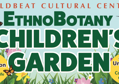 WBC EthnoBotany Children's Garden Banner